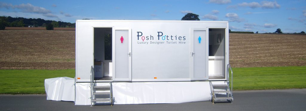 Refrigerated trailer hire by posh potties for Mobel luxus designer