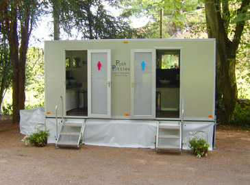 Designer 200 Mobile Toilet Hire