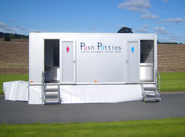 Designer 300 Mobile Toilet Hire