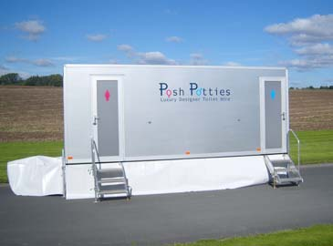 Contemporary 200 Mobile Toilet Hire